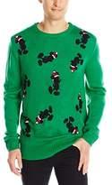 Disney Men's Santa Mickey Sweater