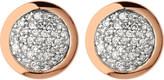 Links of London Diamond Essentials rose gold vermeil and diamond stud earrings
