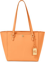 Lauren Ralph Lauren Saffiano Medium Halee II Shopper