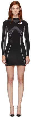 Off-White Off White Black Athletic Long Sleeve Dress