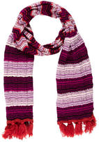 Missoni Chevron Wool Scarf