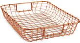Design Ideas Cabo Copper Letter Basket