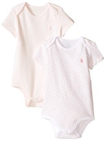 Ralph Lauren Printed Interlock Bodysuit Two-Piece (Infant)