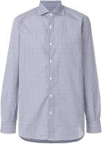 Isaia plaid shirt