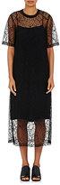 Robert Rodriguez Women's Lace Elongated T-Shirt Dress
