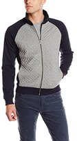 Scotch & Soda Men's Quilted Track Jacket