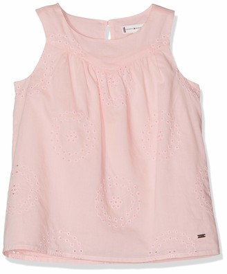 Tommy Hilfiger Girl's Charming Shiffley Top S/s Vest