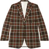 Gucci Retro Slim vintage check jacket