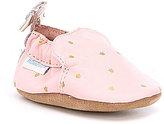 Robeez Baby Girls Newborn-24 Months Bow Soft-Sole Shoes