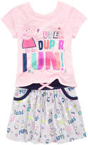 Peppa Pig 2-Pc Printed T-Shirt & Skirt Set, Toddler Girls