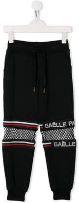 Gaelle Paris Kids mesh panel track pants