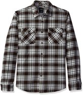 RVCA Men's That'll Work Flannel Shirt