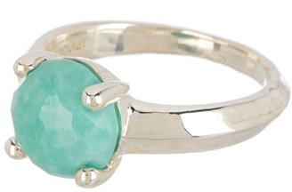 Ippolita Sterling Silver Rock Candy Stone Knife Edge Ring - Size 7
