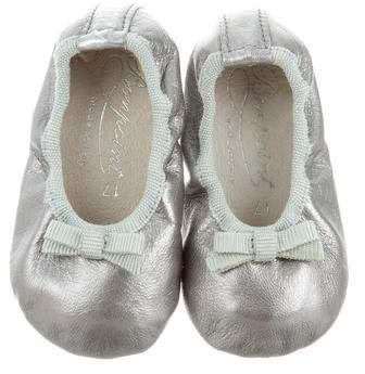Bonpoint Girls' Metallic Ballet Flats