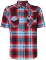 Diesel Men's Short Sleeve Check Shirt