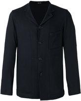 Giorgio Armani chest pocket shirt jacket - men - Ramie/Viscose/Spandex/Elastane - 48