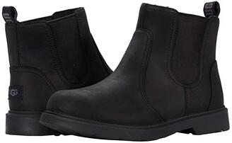 Ugg Kids Bolden (Little Kid/Big Kid) (Black) Boy's Shoes