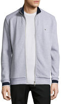 Lacoste Semi-Fancy Piqué Front-Zip Sweater