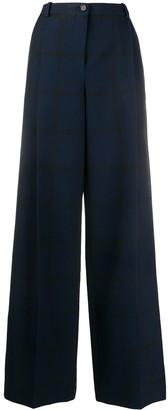 Nina Ricci High-Waisted Wide Leg Trousers