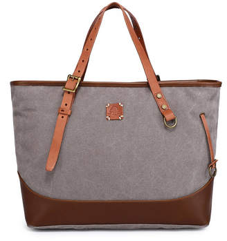 Tsd Brand Redwood Canvas Shopper Bag