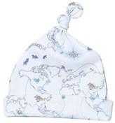 Livly Blue World Map Tossie Hat