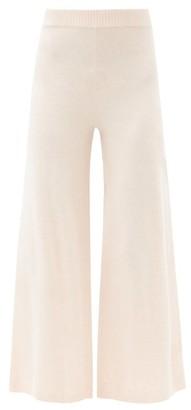 The Upside Igor High-rise Wide-leg Trousers - Light Pink