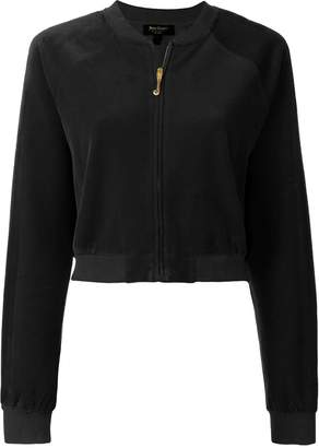Juicy Couture cropped zipped jacket