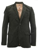Undercover notched lapel ribbed blazer