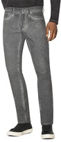 John Varvatos Bowery Straight Fit Jeans in Charcoal