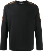 Fendi FF layer effect long-sleeved T-shirt
