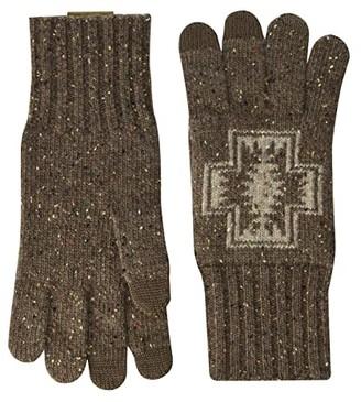 Pendleton Lambs Wool Gloves (Harding Brown) Dress Gloves