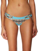 Frankie's Bikinis Willow Seamless Macrame Side Bikini Bottom