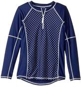 Toobydoo Dot Rashguard (Infant/Toddler/Little Kids/Big Kids)