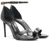 Tom Ford T leather sandals