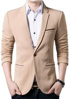 Benibos Men's Slim Fit Casual Premium Blazer Jacket (M, )