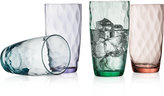 The Cellar Optic Color Collection 4-Pc. Highball Glasses