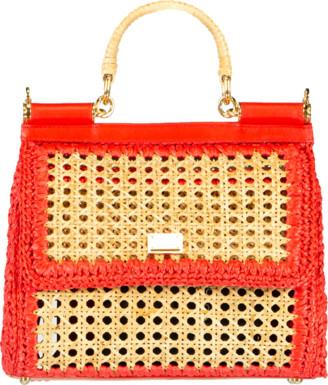 Dolce & Gabbana Sicily Medium Top Handle Bag