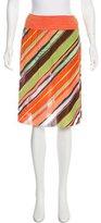Missoni Printed Knee-Length Skirt w/ Tags