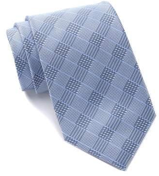 Calvin Klein Checkered Silk Tie