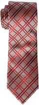 Geoffrey Beene Men's big-tall Big-tall Heather Grid Extra Long Tie