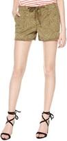Sanctuary Women's Playa Print Tie Waist Shorts