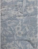 Current/Elliott Mood Indigo Floral Jeans
