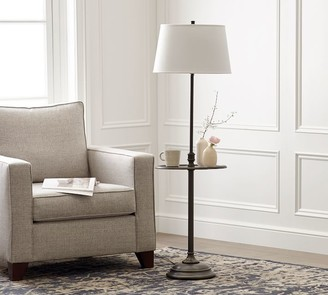 Pottery Barn Chelsea Metal Floor Lamp With Tray