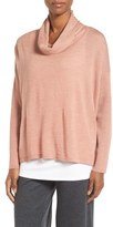 Eileen Fisher Boxy Merino Wool Sweater (Regular & Petite)