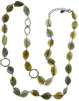 Mabel Chong - Verona Labradorite Diamond Necklace