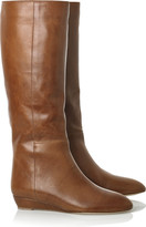 Matilde leather knee-high boots