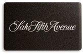 Saks Fifth Avenue Saks Signature Gift Card