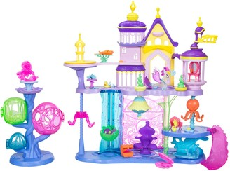 My Little Pony The Movie Canterlot & Seaquestria Castle Light-Up Tower Playset