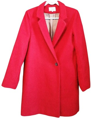 Non Signã© / Unsigned Non SignA / Unsigned Red Wool Coats