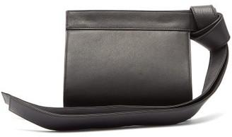 Tsatsas Tape Xs Leather Clutch - Black